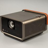 优派 X10 家用4K投影仪开箱展示(机身 提手 旋钮 支架 接口)