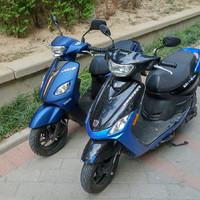 雅马哈巧格i踏板摩托车外观展示(尺寸|后架|尾灯)