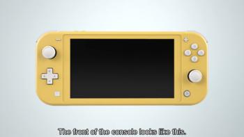 Nintendo Switch Lite游戏机外观展示(屏幕|机身|摇杆)