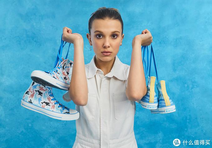 """《怪奇物语》女主专属:CONVERSE 匡威 推出 Chuck Taylor """"Millie By You"""" 系列鞋款"""