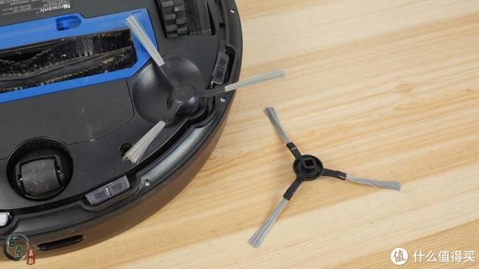扫得干净还很智能,享受生活从它开始!浦桑尼克扫地机器人LDSM7体验