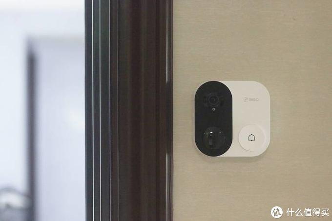 出差在外也能够对自家门口了如指掌—360可视门铃1C