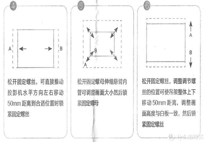 三组固定螺丝,调节4、5、6步