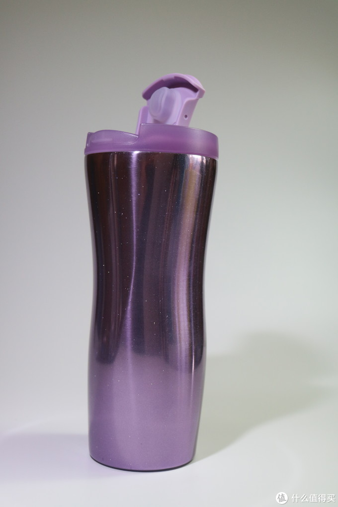 我的第一款星巴克杯,经典闪耀紫保温杯