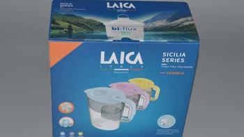 莱卡  LA35EN家用自来水滤水壶开箱展示(滤芯 壶身 壶盖 壶口)