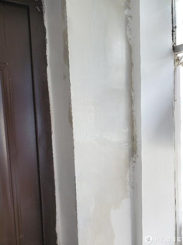 另一处外墙涂完墙固后