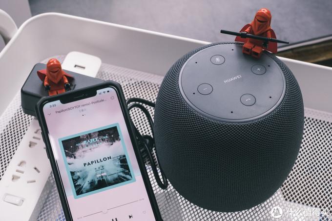 结合丹拿调音,海量曲库加持,有声好音质:华为AI音箱