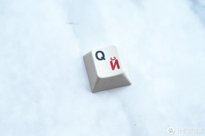 经典值得收藏—EnjoyPBT白灰红俄文键帽展示体验