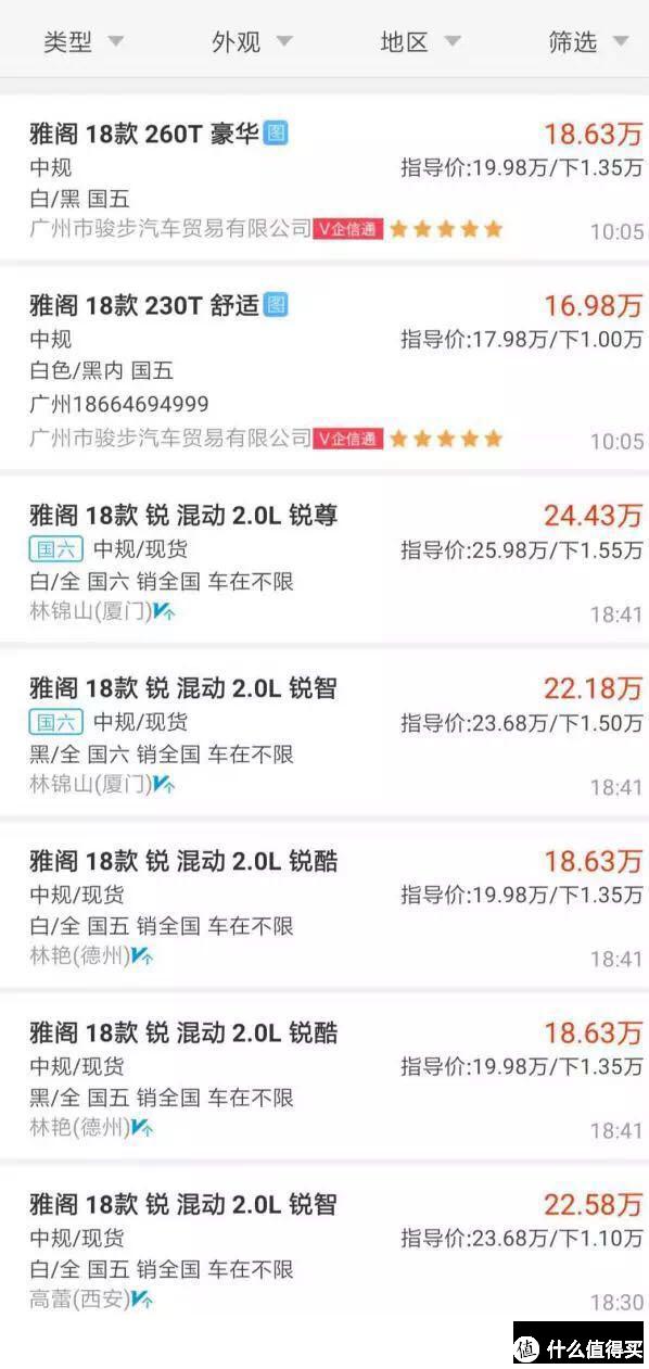 雅阁:国五不降价,优惠反收6000块