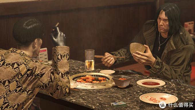 苦命兄弟,冴岛临走前还教了真岛烤大肠的正确做法