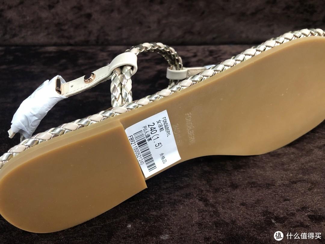 这样的小清新凉鞋,你喜欢吗?