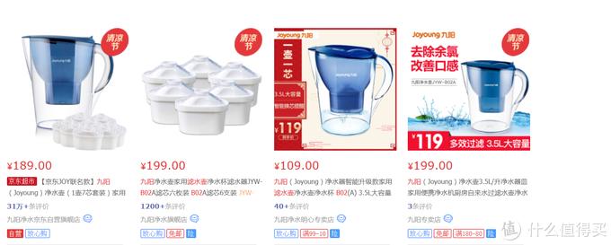 不花冤枉钱之三款3.5L主流百元级家用净水壶评测