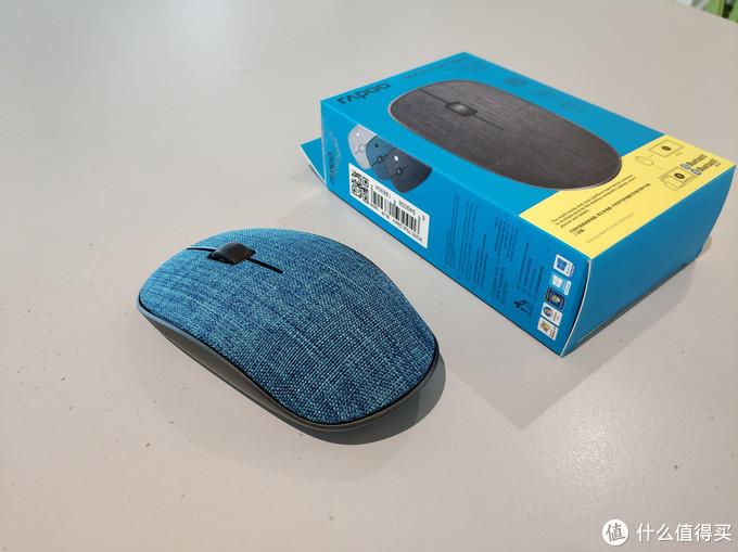 极简设计遇上清爽布艺,暑假小伙伴之雷柏M200PLUS多模无线鼠标