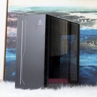 鑫谷全新ATX3.0机箱外观展示(灯带|尺寸|厚度|背面)