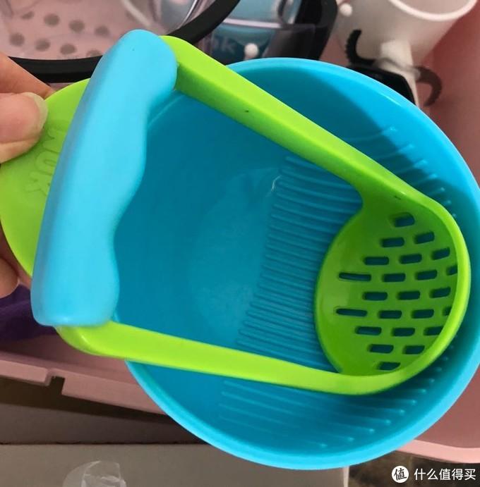 nuk研磨碗,宝爸用的比较多,要点力气
