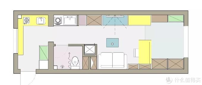 HomeDesign | 北京运河西大街有一个30m²万花筒般的家