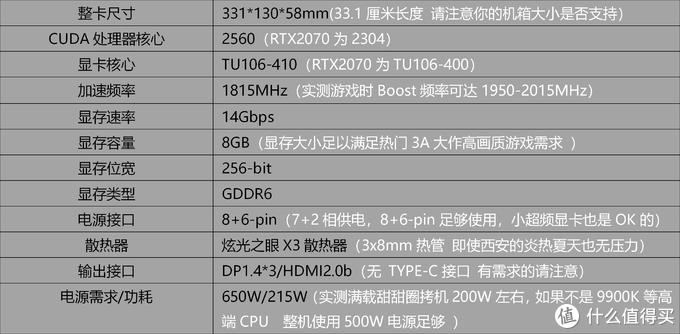 至臻性价比 耕升RTX2070 Super 炫光OC (500块带来15%性能提升)