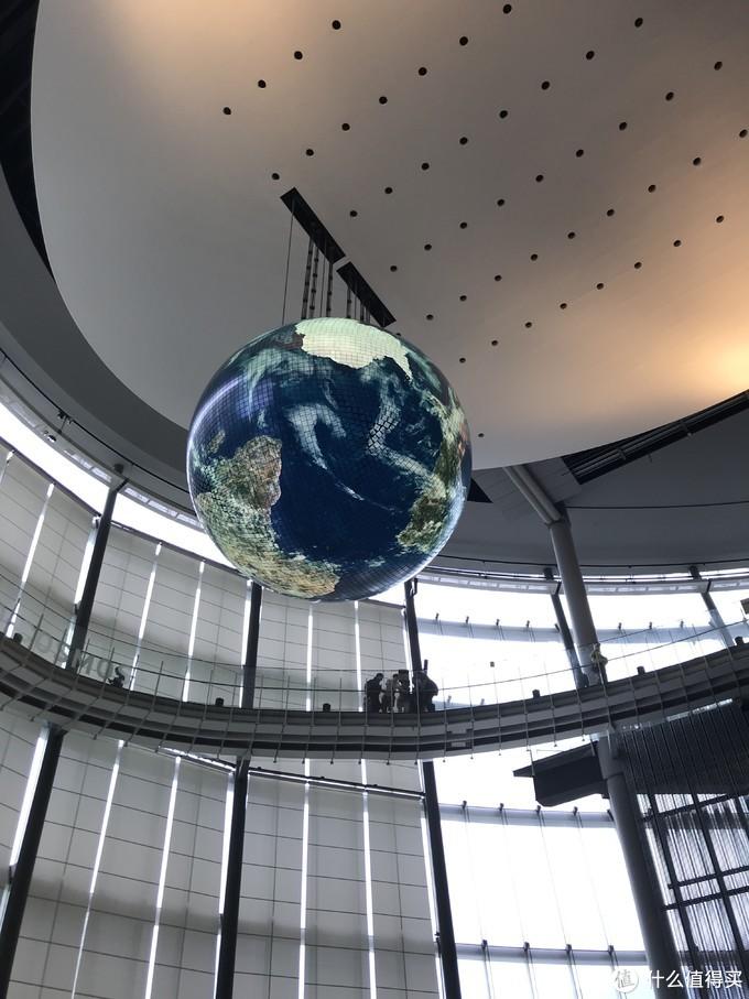 科技馆的实时地球