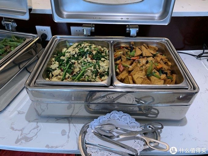 韭菜炒豆角和豆腐