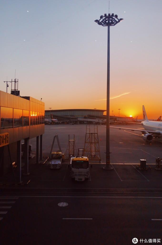 早班机的朝阳