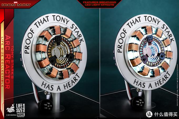 玩模总动员:HT《钢铁侠》托尼1:1胸口反应器开订!