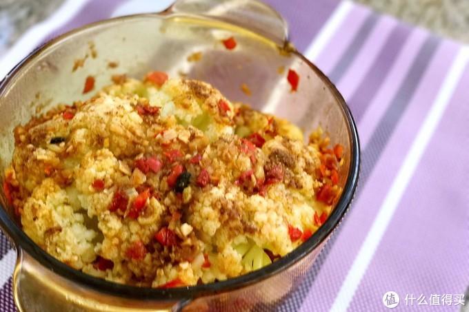 """最适合厨房小白""""整颗花菜蒸"""",不用刀功、不懂火候照样能做美味"""