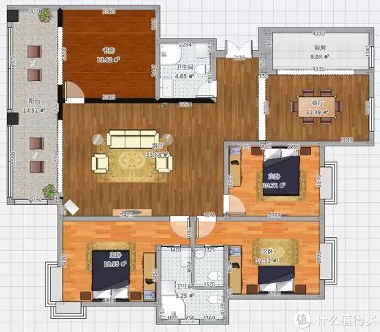 户型改造实例:卫生间三分离+卧室提升私密性,20张图手把手讲透!小白砸墙必修课!
