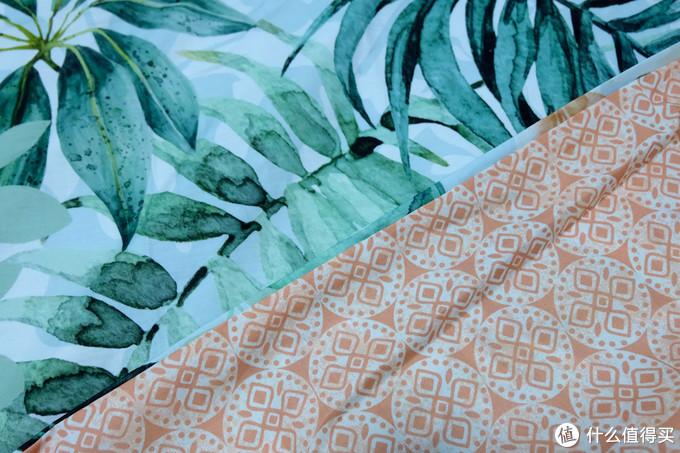 淡雅的水墨风,柔软亲肤舒适体验:In Homeware Ins风 热带雨林棕榈 被套套装