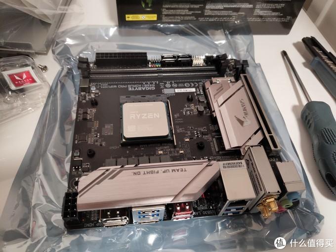 2200G+技嘉B450I+乔思伯C2晒单,附简单散热改造