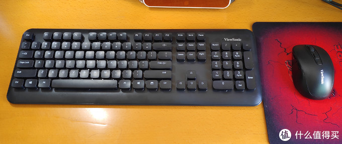 悬浮键帽+1600DPI——39.9元的优派CW1265无线键鼠套装开箱