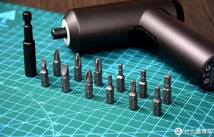 工欲善其事必先利其器,米家电动螺丝刀12枚S2钢批头助一臂之力