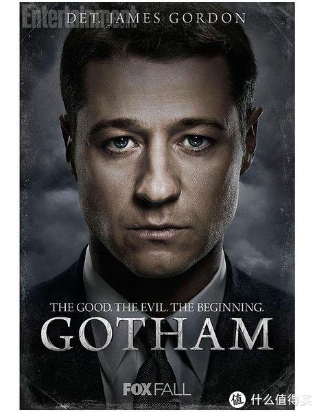 哥谭第一季,封面是年轻的戈登大叔