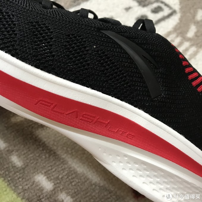 618购鞋季中奖秀!134克超轻的安踏氢跑鞋