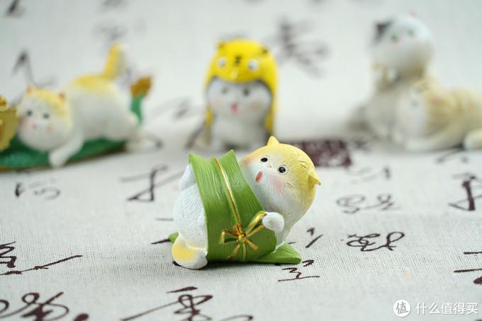 一个喵控的自我修养:故宫 端午小猫 限量版摆件套装