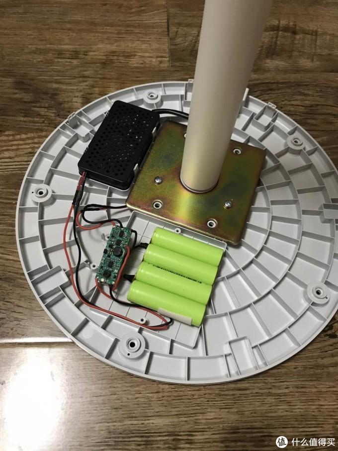 可能是全网首发?米家风扇1X加装电池改无线方案
