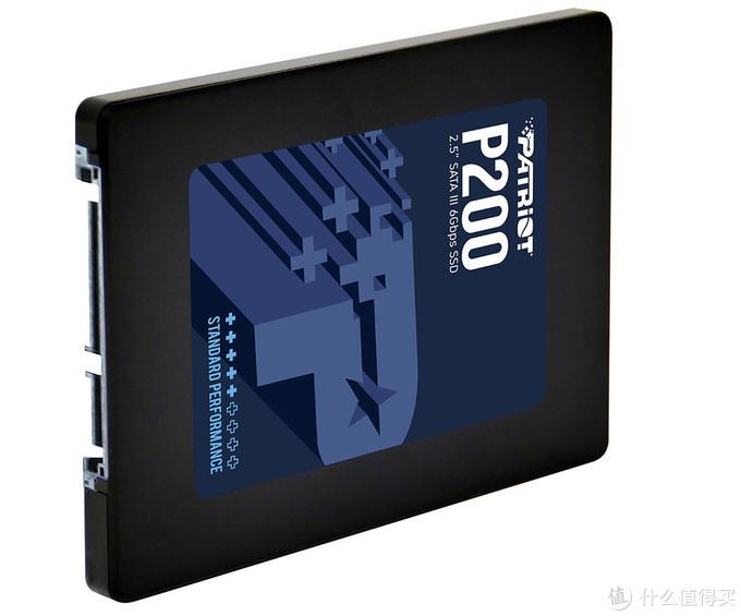 最高2TB容量、530MB/s:Patriot 博帝 推出 P200系列 SSD固态硬盘