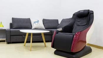 KGC微空按摩椅外观展示(头枕|扶手|快捷键)