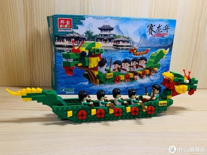 迟到的龙舟~寓教于乐的邦宝赛龙舟,传统文化也可以玩着学