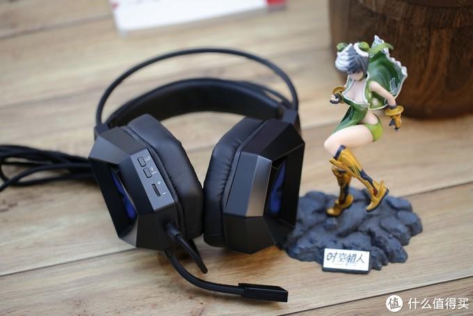 百元价格1000元效果,入门吃鸡耳机选择:钛度冰霜之眼电竞耳机