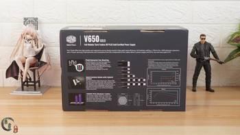 酷冷至尊 V650GOLD 游戏电源开箱晒物(电源线|接口|保护罩|外壳)