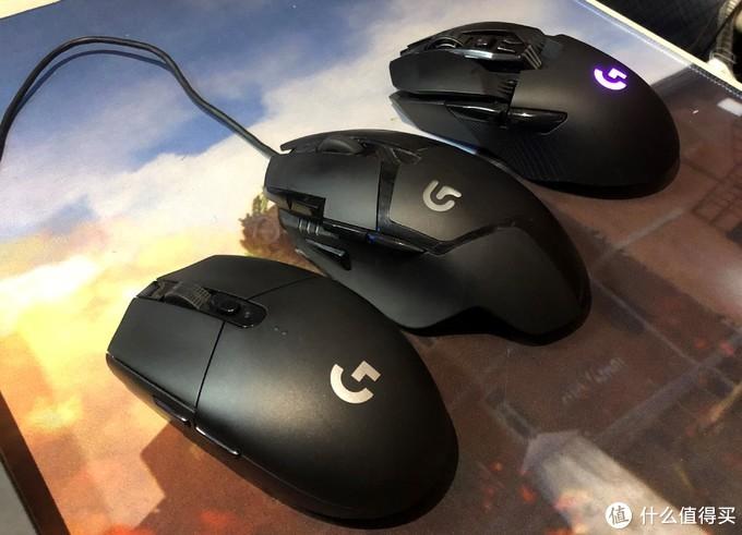 左:G304 中:G402 右:G903