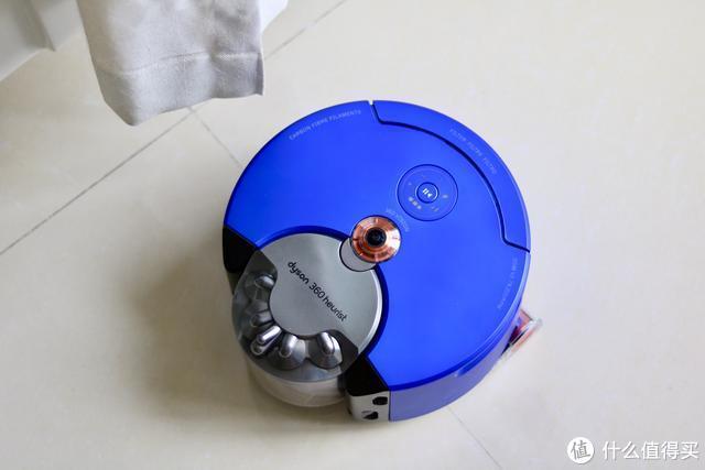 绘制地图+划区清扫更干净 全新戴森360Heurist智能吸尘机器人评测