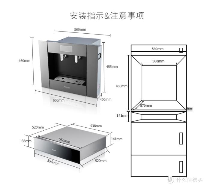 安装嵌入式厨电,CC教你注意事项!