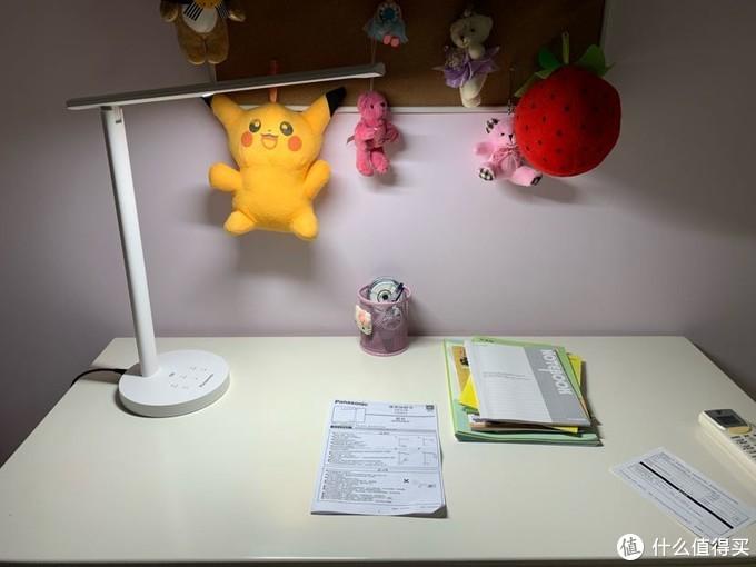 现在有了这款松下的台灯,原来好视力的台灯马上下台,我可是个很势利的家长。