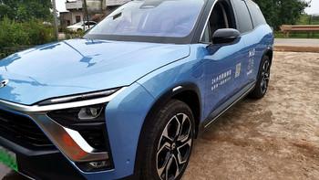 蔚来ES8新能源车外观展示(车头|大灯|车身|侧身)