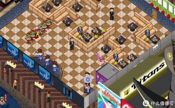Windows早期游戏梦幻西餐厅。你模拟一家餐厅的老板,需要安排桌椅板凳的位置,需要雇佣厨师服务员,还需要雇人收银结账。这个图片是我在网上找到的,好像已经是第二个版本。印象中早期版本比这个还要更简陋些。但是却圆了我一个当老板的梦。