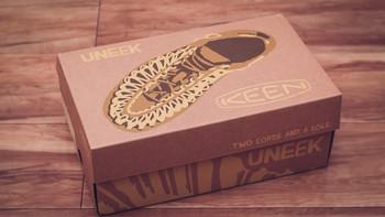 KEEN UNEEK O2 男士溯溪鞋开箱晒物(鞋面|鞋跟|鞋垫|鞋底|鞋带)