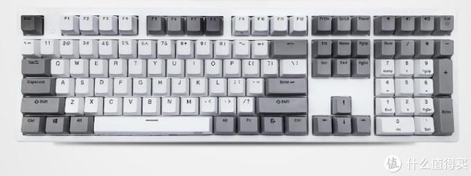 记一次不完美的拔草——PLUM普拉姆静电容键盘新防溅水108灰白简正刻35g