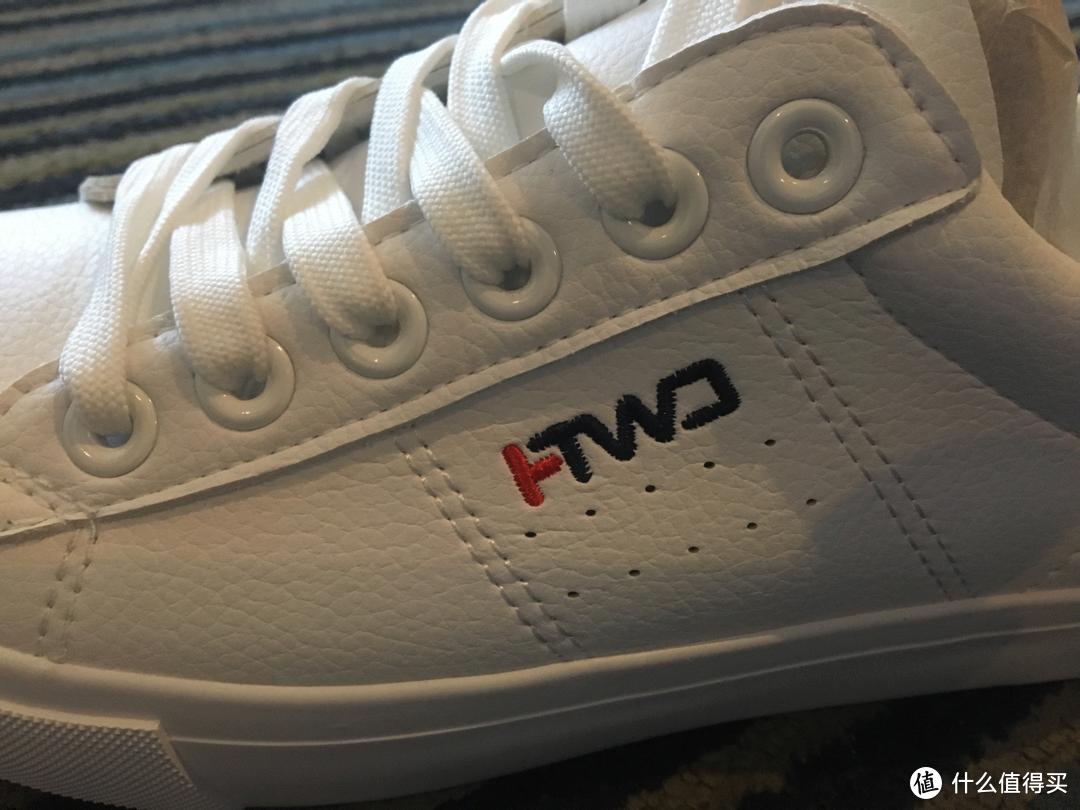 初试小白鞋:HOTWIND男士时尚休闲鞋