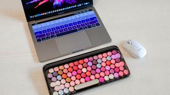 洛斐网红款无线蓝牙机械键盘使用总结(模式|便携性|灯光|续航)